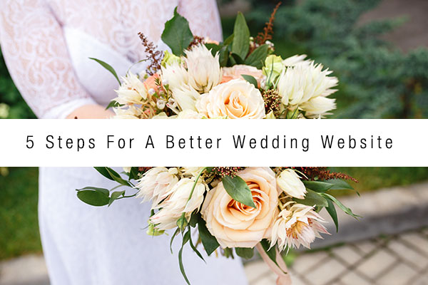 5-steps-wedding-website